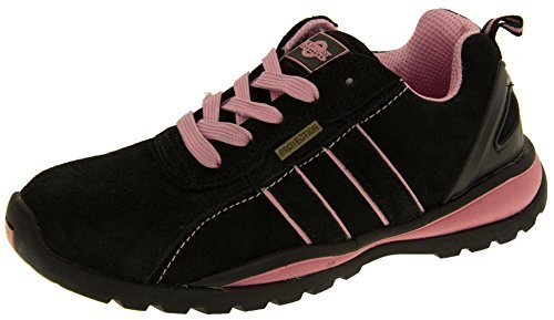 Footwear Studio Northwest Territory Damen Schwarz Und Pink Leder