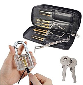 geepro profi lockpicking set 24 teiliges pick set dietriche kit ich bin nur ein neuling. Black Bedroom Furniture Sets. Home Design Ideas